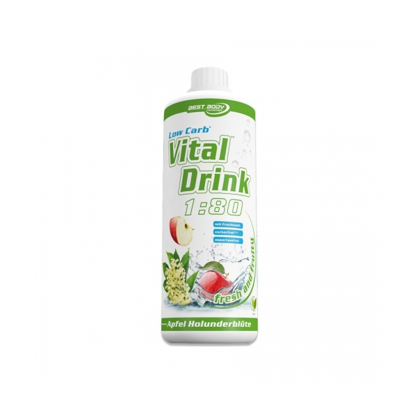 BEST BODY NUTRITION Low Carb Vital Drink 1l