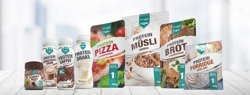 FIT4DAY, la marque protéinée qui étonne les sportifs !